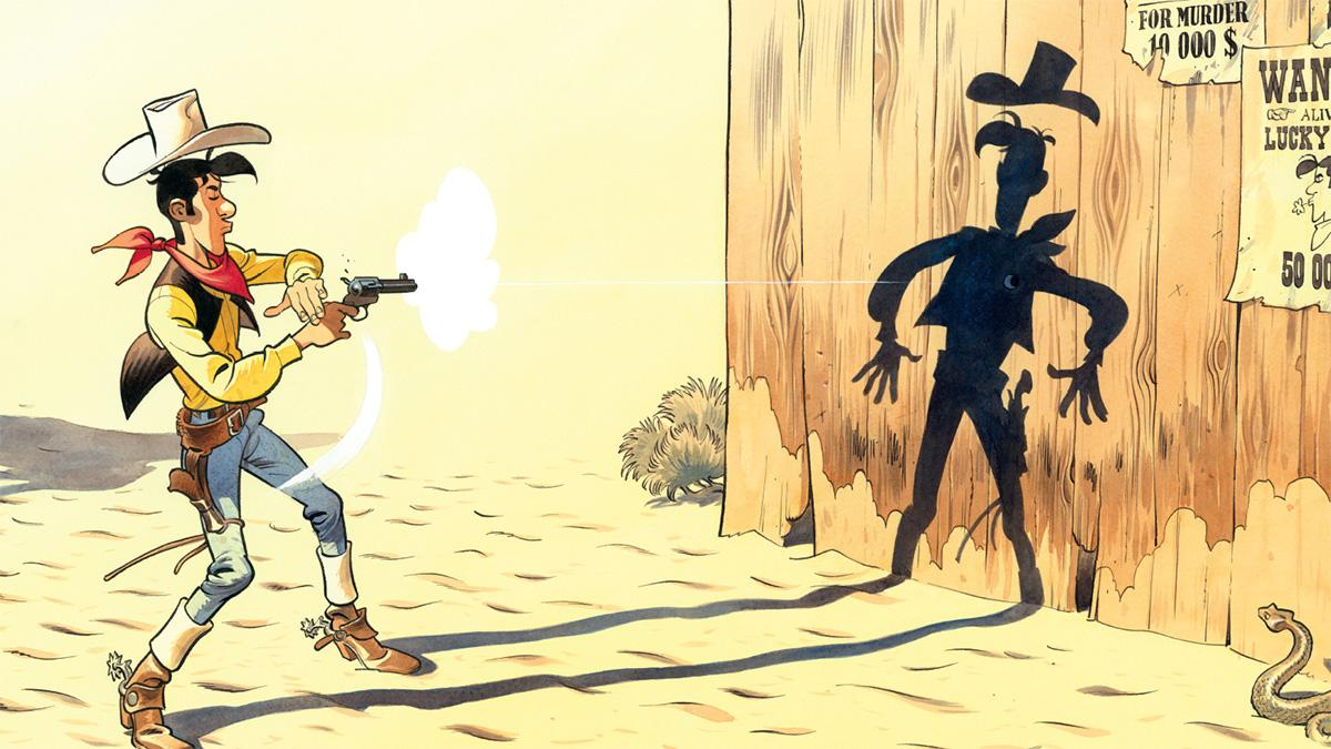 Wanted Lucky Luke - UNE