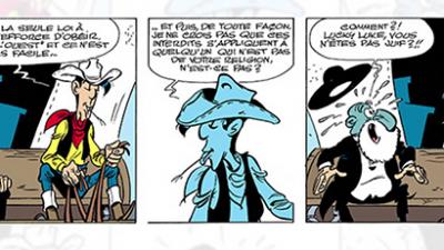 Quand Lucky Luke rencontre Rabbi Jacob