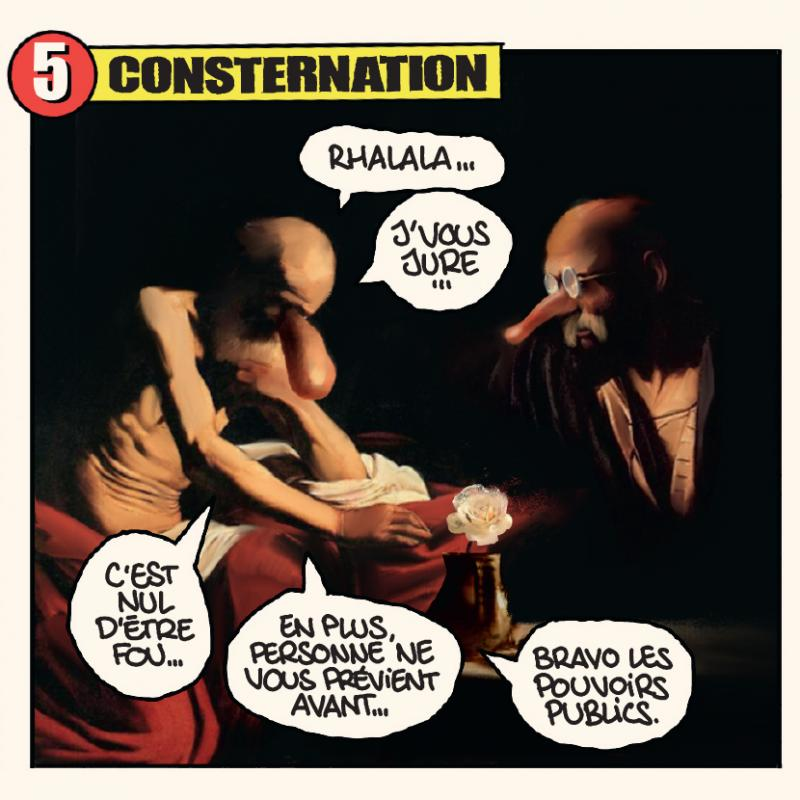 Concours : case 5 consternation