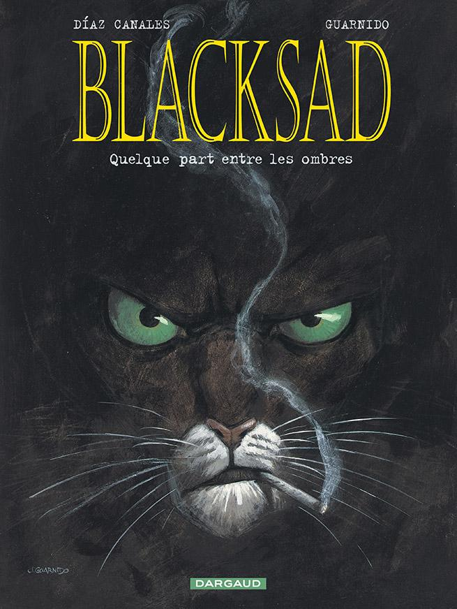 Couverture de Blacksad par Canales et Guarnido