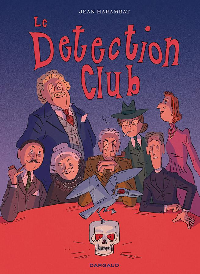 Couverture du Detection Club par Jean Harambat