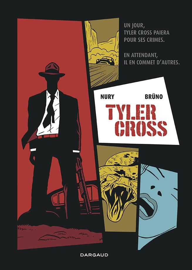 Couverture de Tyler Cross par Nury et Bruno
